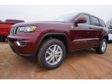 2017 Velvet Red Pearl Jeep Grand Cherokee Laredo 4x4 #117634710