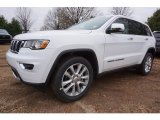 2017 Bright White Jeep Grand Cherokee Limited #117634707