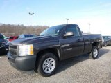2011 Taupe Gray Metallic Chevrolet Silverado 1500 Regular Cab #117634782