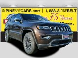 2017 Luxury Brown Pearl Jeep Grand Cherokee Limited 4x4 #117654638