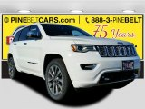 2017 Bright White Jeep Grand Cherokee Overland 4x4 #117654631