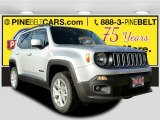 2017 Glacier Metallic Jeep Renegade Latitude 4x4 #117654625