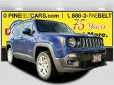 2017 Jetset Blue Jeep Renegade Latitude 4x4 #117654623