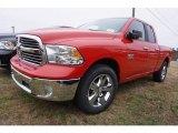 2017 Flame Red Ram 1500 Big Horn Quad Cab #117654715