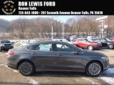 2017 Magnetic Ford Fusion SE AWD #117654694