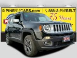 2017 Black Jeep Renegade Limited 4x4 #117680056