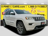 2017 Bright White Jeep Grand Cherokee Overland 4x4 #117680051