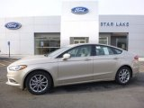 2017 White Gold Ford Fusion SE #117680374
