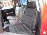 2017 Chevrolet Silverado 1500 LTZ Double Cab 4x4 Rear Seat