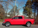 2017 Flame Red Ram 1500 Big Horn Crew Cab 4x4 #117679981