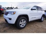 2017 Bright White Jeep Grand Cherokee Laredo #117705719