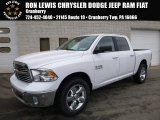 2017 Bright White Ram 1500 Big Horn Crew Cab 4x4 #117705676