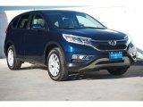 2016 Obsidian Blue Pearl Honda CR-V EX #117705754