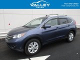2012 Twilight Blue Metallic Honda CR-V EX-L 4WD #117705594
