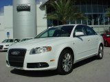 2008 Ibis White Audi A4 2.0T Special Edition Sedan #1172292