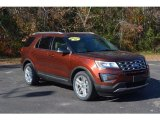 2016 Bronze Fire Metallic Ford Explorer XLT #117705864