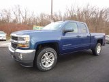 2017 Deep Ocean Blue Metallic Chevrolet Silverado 1500 LT Double Cab 4x4 #117727365
