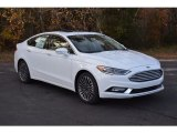 2017 Oxford White Ford Fusion SE #117727475