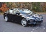 2017 Shadow Black Ford Fusion SE #117727473