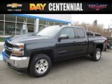 2017 Graphite Metallic Chevrolet Silverado 1500 LT Double Cab 4x4 #117727244