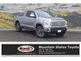 2017 Silver Sky Metallic Toyota Tundra Limited Double Cab 4x4 #117727176