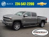 2017 Pepperdust Metallic Chevrolet Silverado 1500 High Country Crew Cab 4x4 #117727465