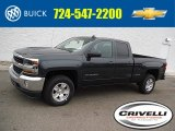 2017 Graphite Metallic Chevrolet Silverado 1500 LT Double Cab 4x4 #117727462