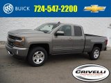2017 Pepperdust Metallic Chevrolet Silverado 1500 LT Double Cab 4x4 #117727461