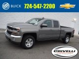 2017 Pepperdust Metallic Chevrolet Silverado 1500 LT Double Cab 4x4 #117727460