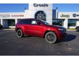 2017 Velvet Red Pearl Jeep Grand Cherokee Laredo #117727393