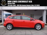 2015 Race Red Ford Focus SE Hatchback #117727282