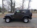 2017 Granite Crystal Metallic Jeep Wrangler Sport 4x4 #117761509