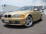 2001 Light Yellow Metallic BMW 3 Series 330i Coupe #1152409