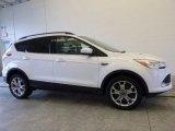 2014 Oxford White Ford Escape SE 2.0L EcoBoost 4WD #117773367