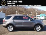 2014 Sterling Gray Ford Explorer XLT 4WD #117773352