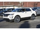 2017 White Platinum Ford Explorer Sport 4WD #117773447