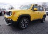 2017 Solar Yellow Jeep Renegade Latitude #117773381