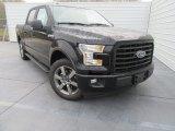 2017 Shadow Black Ford F150 XLT SuperCrew #117773500