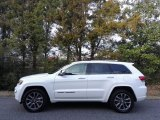 2017 Bright White Jeep Grand Cherokee Overland 4x4 #117773250