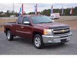 2013 Victory Red Chevrolet Silverado 1500 LT Extended Cab #117792671