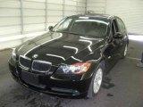 2006 Jet Black BMW 3 Series 325xi Sedan #1152697