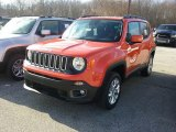 2017 Omaha Orange Jeep Renegade Latitude 4x4 #117792705