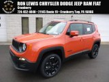 2017 Omaha Orange Jeep Renegade Altitude 4x4 #117792538