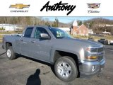 2017 Pepperdust Metallic Chevrolet Silverado 1500 LT Double Cab 4x4 #117792850