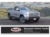 2017 Silver Sky Metallic Toyota Tundra Limited Double Cab 4x4 #117826595