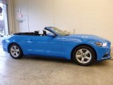 2017 Grabber Blue Ford Mustang V6 Convertible #117826625