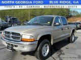 2004 Light Almond Pearl Metallic Dodge Dakota SLT Quad Cab 4x4 #117826540