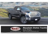 2017 Midnight Black Metallic Toyota Tundra Limited Double Cab 4x4 #117826599