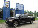 2004 Black Dodge Ram 1500 Laramie Quad Cab 4x4 #11763250