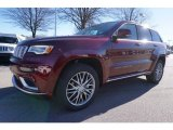 2017 Velvet Red Pearl Jeep Grand Cherokee Summit 4x4 #117841797